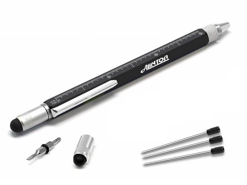 Bolígrafo multi herramienta