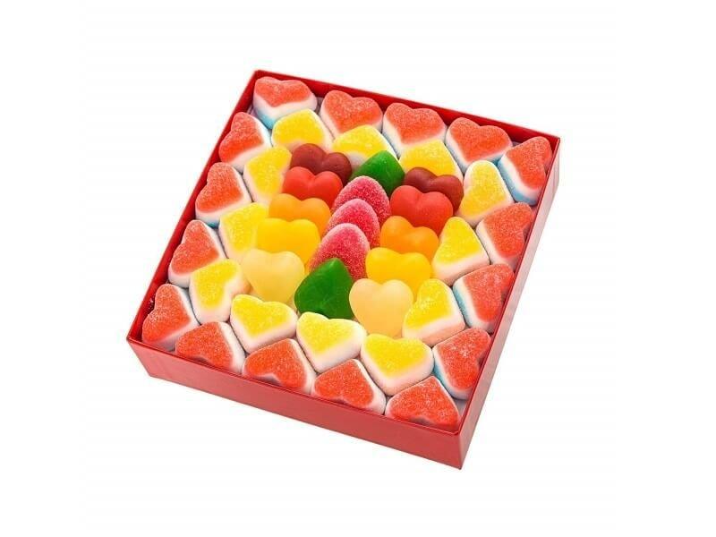 Caja de corazones
