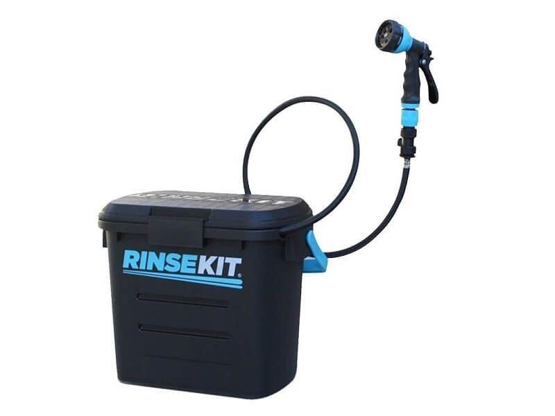 Ducha portátil a presión con depósito de 7,5 litros