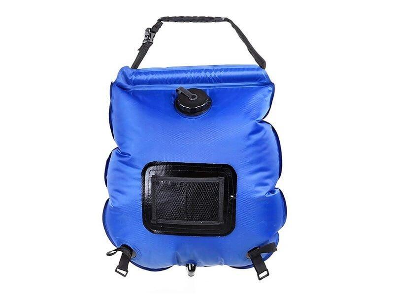 Ducha portátil solar plegable de 20 litros