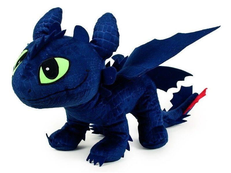 El peluche de Cómo Entrenar a tu Dragón