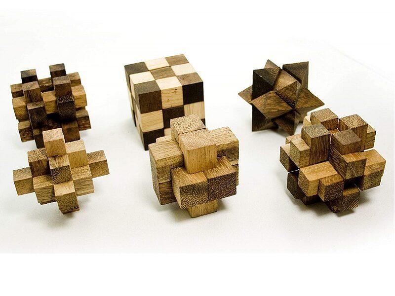 Juegos de ingenio en madera