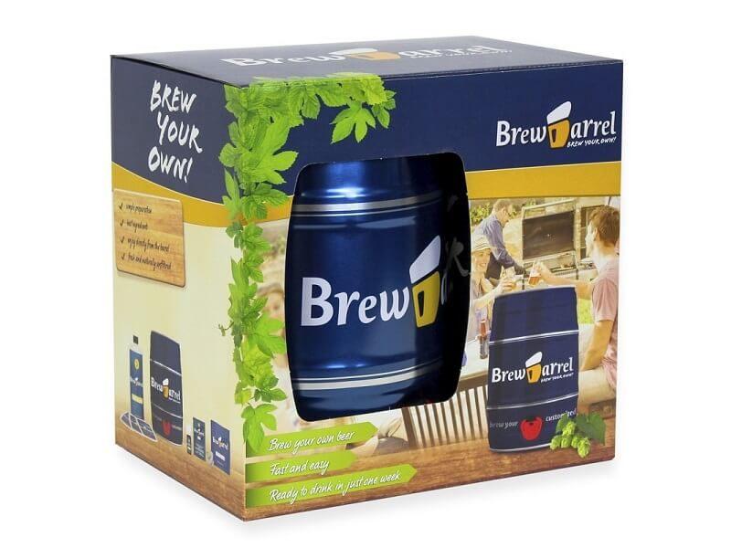Kit de cerveza artesanal BrewBarrel