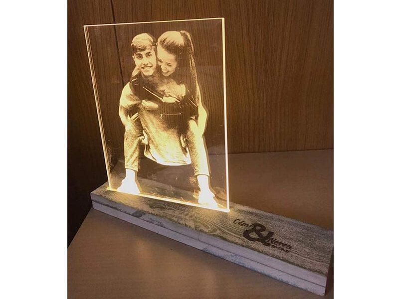 Lámpara personalizada con vuestra foto