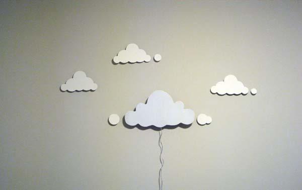 Lámparas con nubes