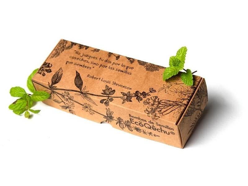 Pack 6 bombas de semillas aromáticas