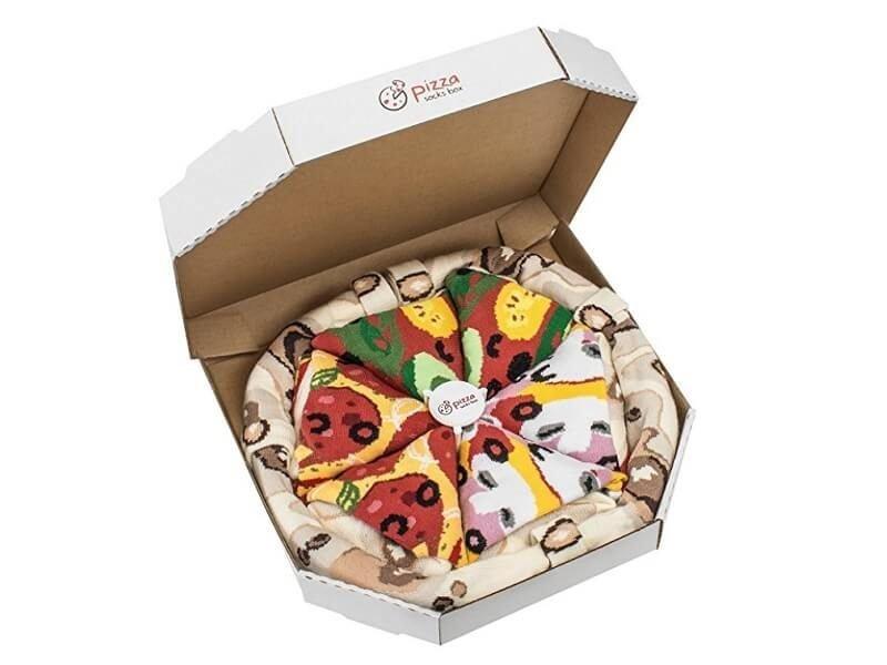 Pizza Socks Box 1