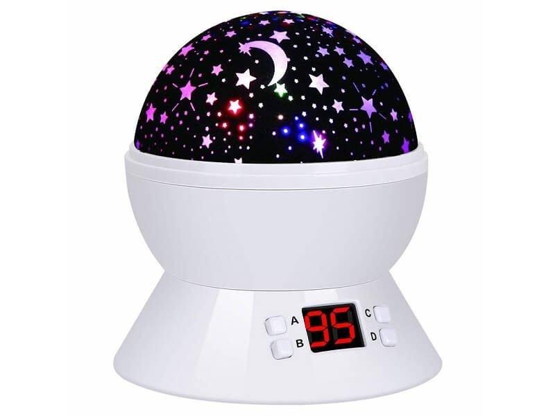 Proyector de estrellas y luna 360 grados