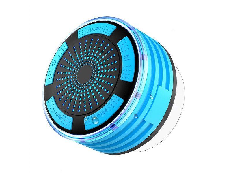 Radio de ducha impermeable IPX7