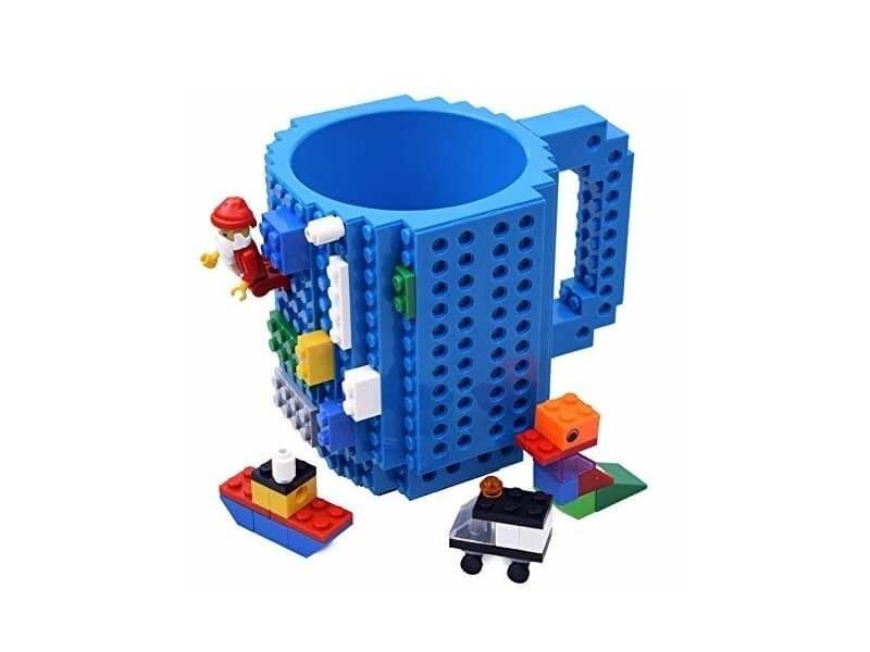 Taza de café LEGO construcción