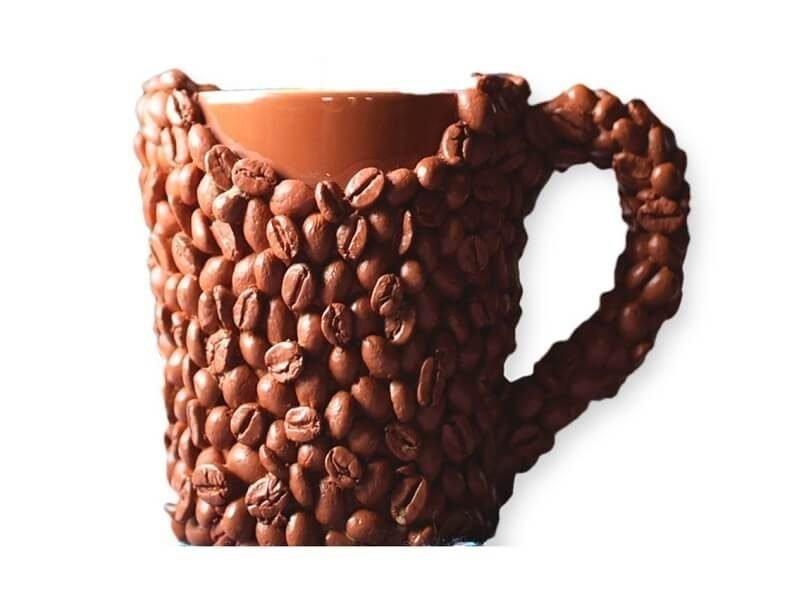 Taza de granos de café