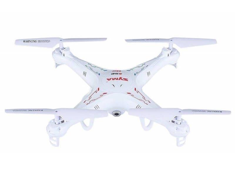 Un drone con cámara HD